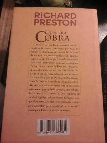 novela operacion cobra de richard preston