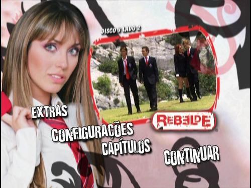 novela rebelde 1ª, 2ª e 3ª temporada rbd -  dublada