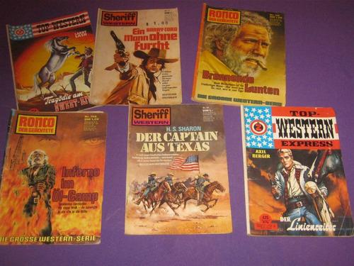 novela revista del oeste en aleman western ronco