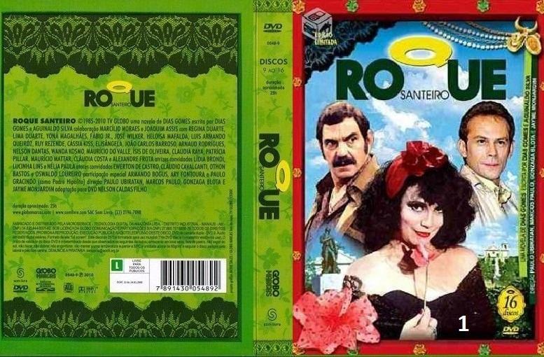 dvd roque santeiro completo