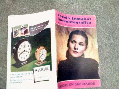 novela semanal cinematografica año 1949