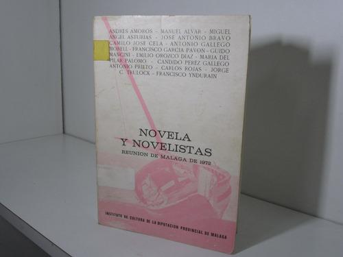 novela y novelistas. amorós, asturias, cela, garcía pavón...