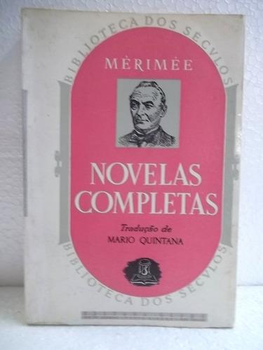 novelas completas prosper mérimée livro ótimo estado