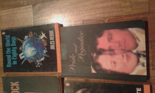 novelas en ingles lote por 4 a 499,99