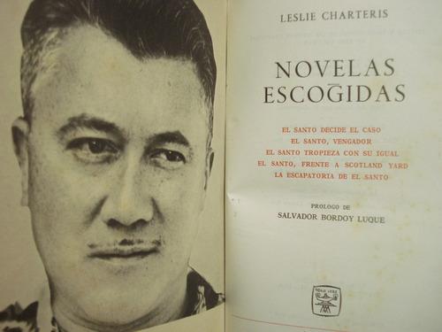 novelas escogidas, de  lesley charteris- aguilar