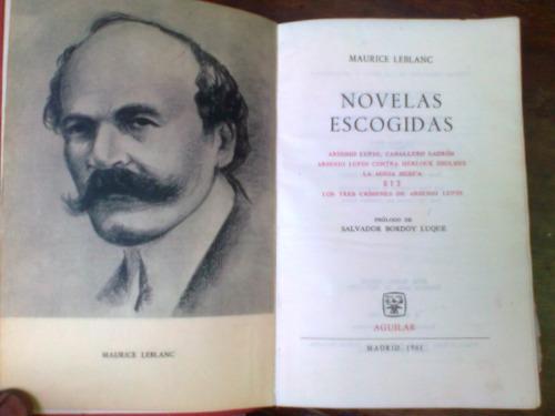 novelas escogidas maurice leblanc