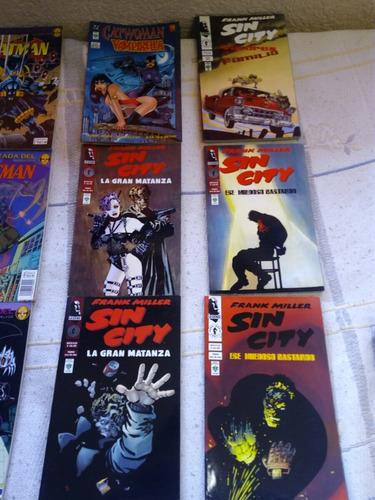 novelas gráfica o cómics sin city