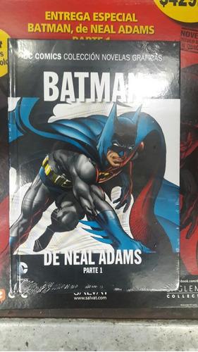 novelas gráficas dc cómics -salvat -especial neal adams -1