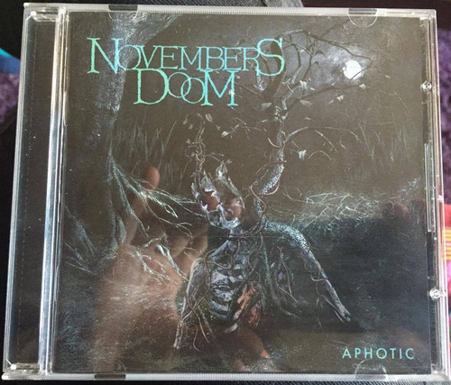 novembers doom aphotic (cd first press doom death metal)