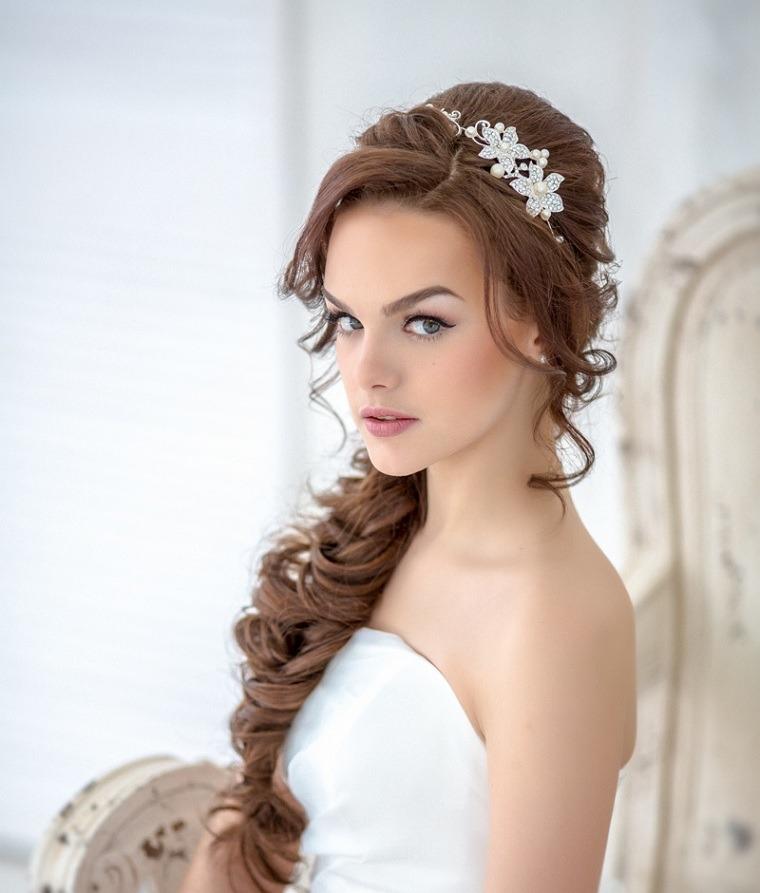 Imagen perfecta peinados para boda de noche Fotos de tendencias de color de pelo - Novia Civil Boda Maquillaje Y Peinado - $ 2.300,00 en ...