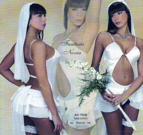 novia disfraz de fantasias