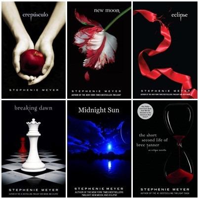 Novidade! 3 Novos Livros Da Saga Crepúsculo + Saga De