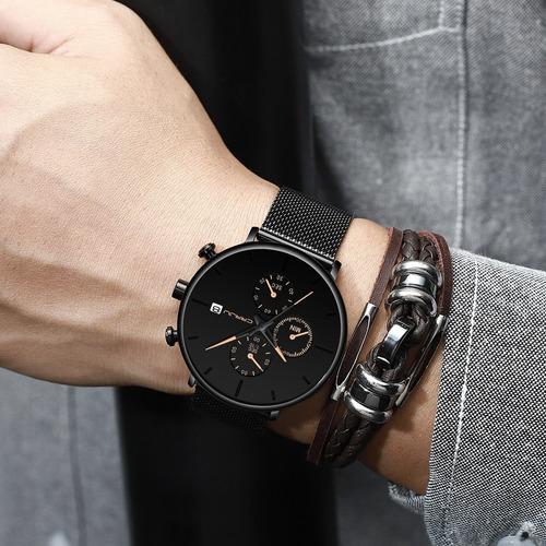 novidade!! relógio crrju 2268 luxo cronógrafo pronta entrega