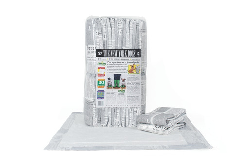 novidade tapete higienico para caes c 70un borda absorvente