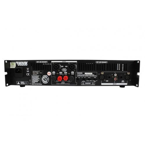 novik neo novo 900 power amplifier 900-watt rms