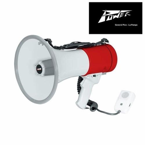 novik nk-66s megafono 25w con microfono mano 500 mts