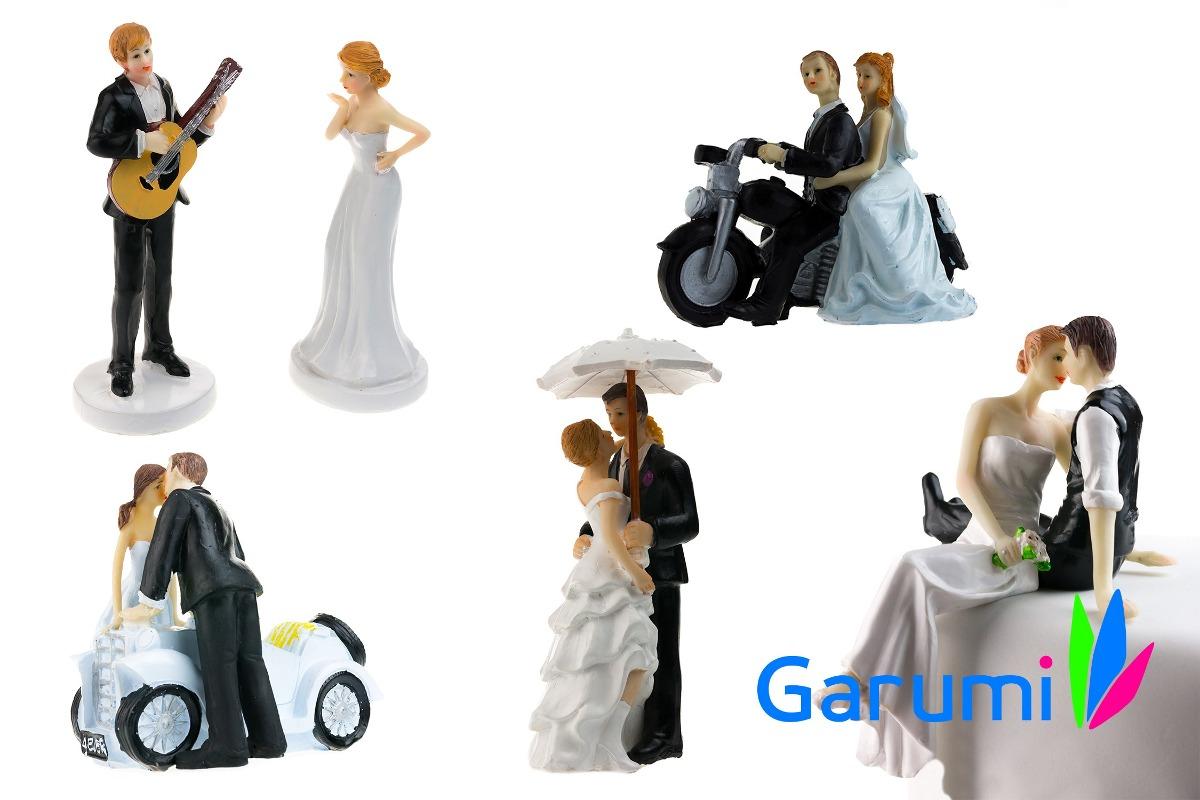 novios figuras para pastel de boda cake toppers moto h4068 en mercado libre. Black Bedroom Furniture Sets. Home Design Ideas