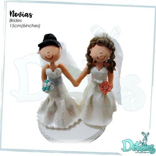 novios muñeco pastel de boda, personalizado a su gusto