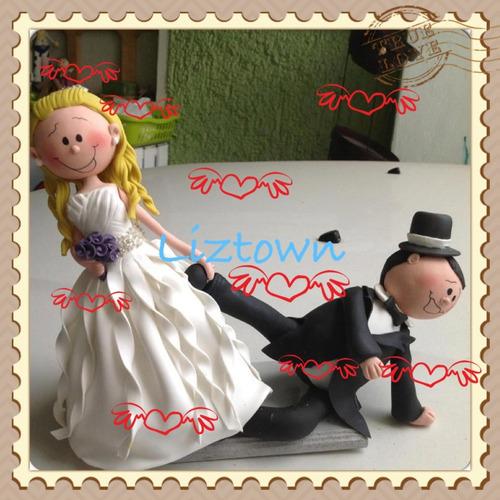 novios para pastel del bodas personalizados