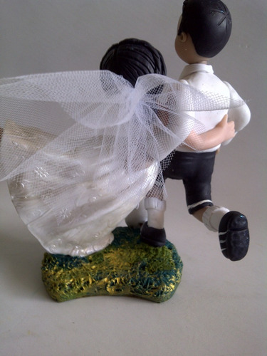 novios para torta de matrimonio personalizado-masa