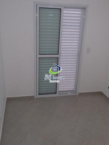 novo!!! 47m² - 2 dorms - 1 vaga - v. assunção - 6633