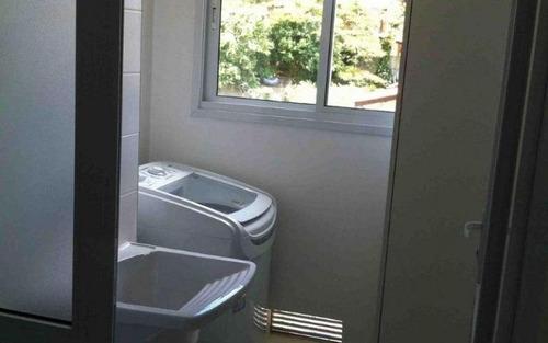 novo, aconchegante, apartamento com 47 m², todo  mobiliado á venda e locação (3.341,01 pacote), no morumbi!