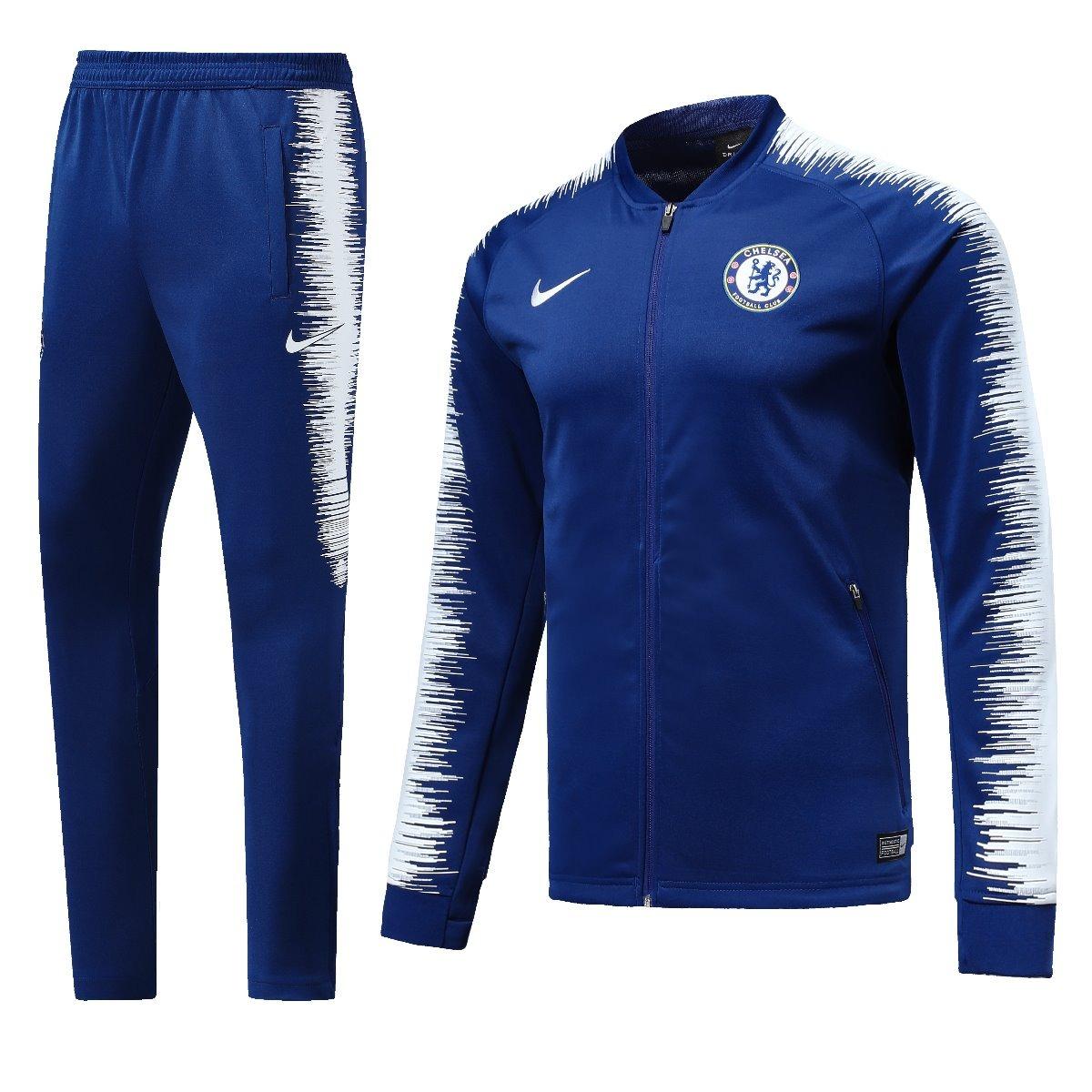 bf89580579 novo agasalho jaqueta conjunto treino chelsea 2018 2019. Carregando zoom.