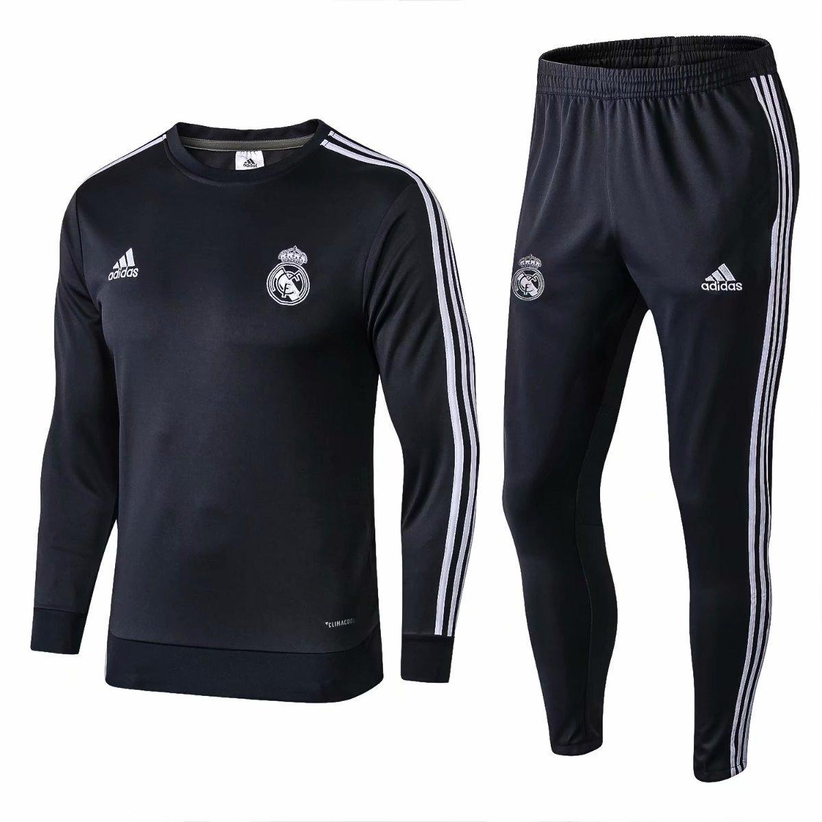 9d570536c8 novo agasalho jaqueta conjunto treino real madrid 2018 2019. Carregando zoom .