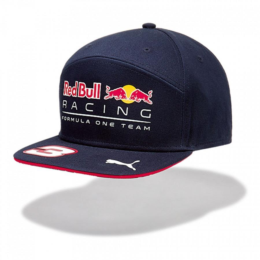 Novo Boné Aba Reta Red Bull Racing F1 Daniel Ricciardo 2017 - R  149 ... e2831a2d345