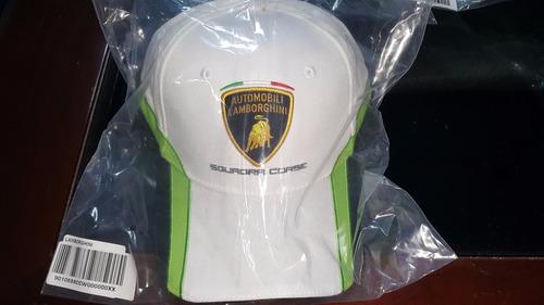 novo boné lamborghini squadra corse 2017 - branco