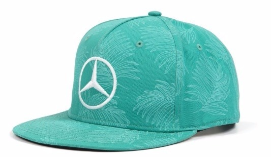 Novo Boné Mercedes Amg Petronas F1 Hamilton Gp Malasia 2017 - R  249 ... b1d73620305