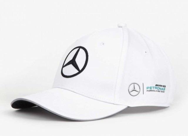 Novo Boné Mercedes Amg Petronas F1 Team 2017 Branco Em Sp - R  229 ... a8c0d9cbebd