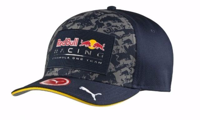 Novo Boné Red Bull Racing Formula One Team Modelo Logo 2016 - R  174 ... c8e691599bd