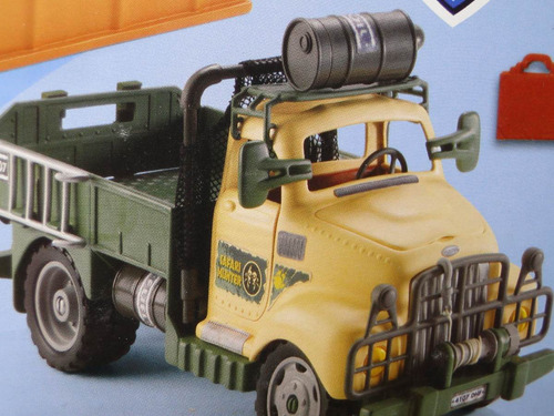 novo caminhão tarzan 60 peças monte desmonte acessorio armas