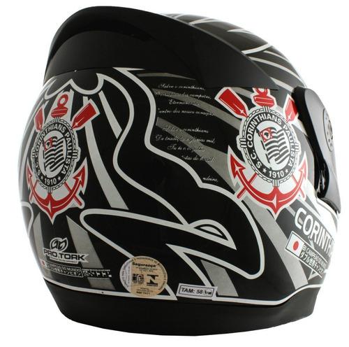 novo capacete protork evolution 3g corinthians futebol clube