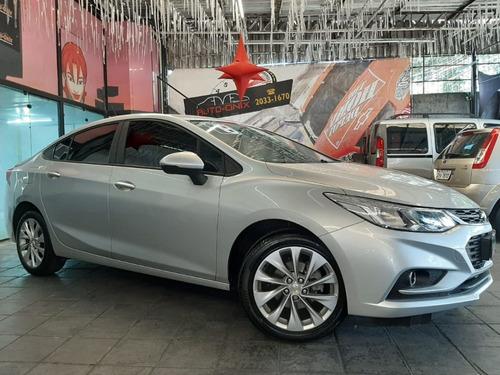 novo chevrolet cruze 1.4 turbo lt 16v 2018 prata