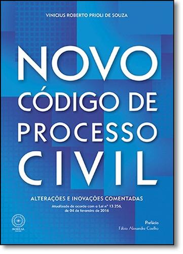 novo código de processo civil: alterações e inovações c