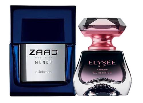 novo elysée nuit boticário parfum + novo zaad mondo-