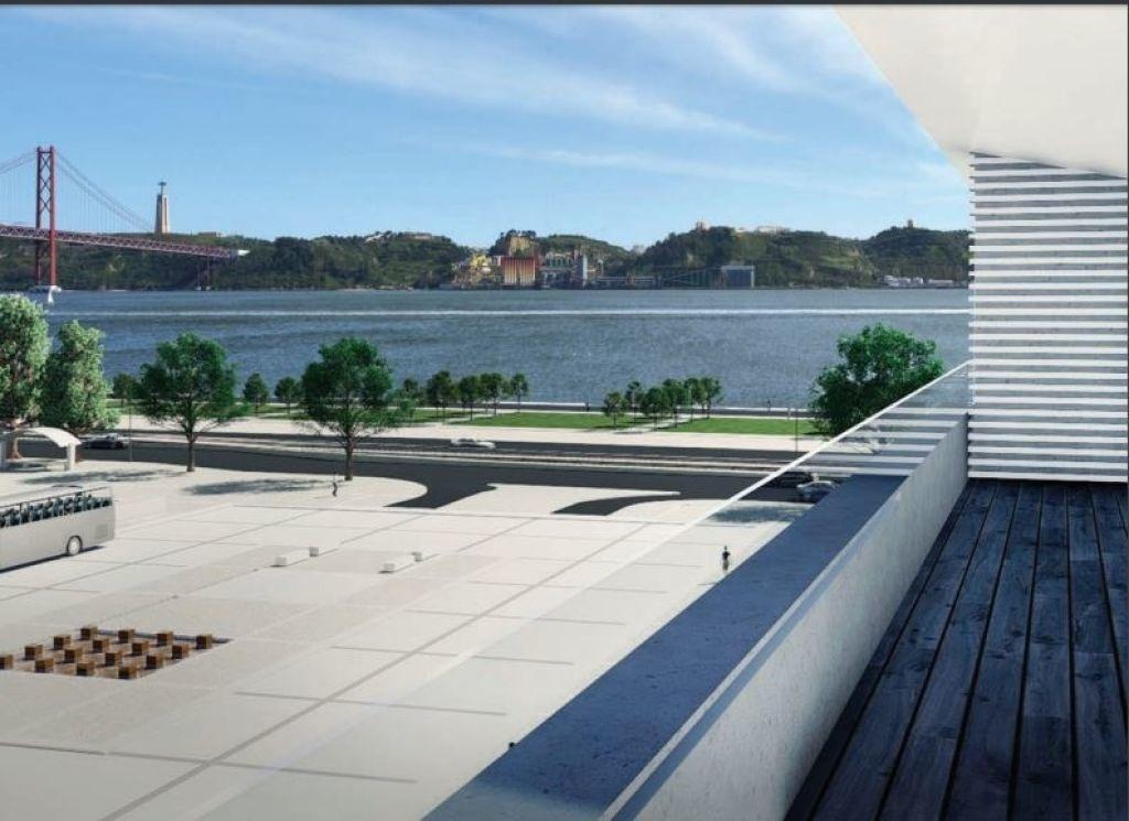 novo empreendimento em portugal, na cidade de belem, em frente ao rio tejo - sf30354