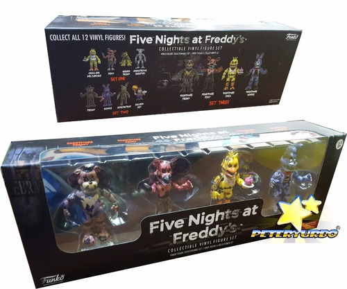 novo five nights at freddy's: four pack nightmare funko