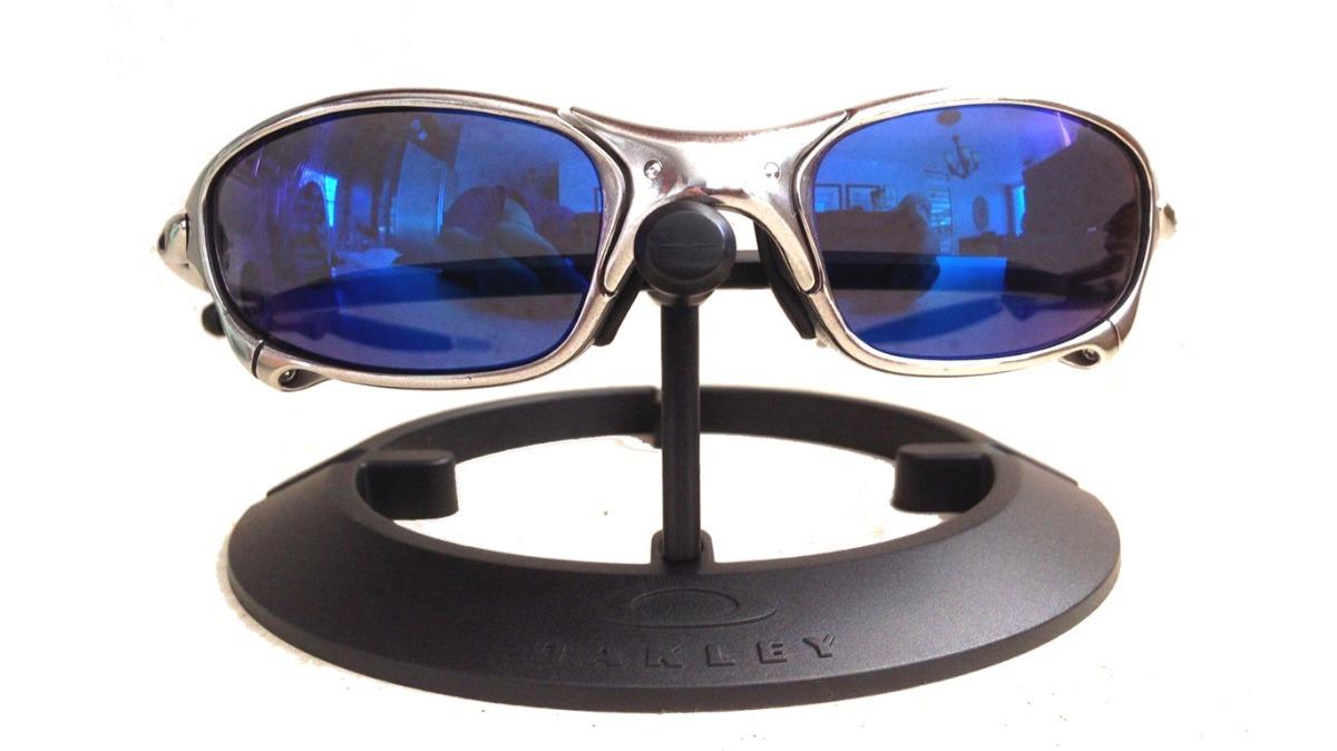 novo oakley juliet cromado polarized numerado + lente brinde. Carregando  zoom. 91a4b591e6