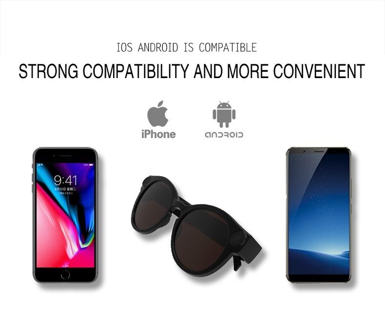 d9e572e3d0bfd Novo Oculos Espiao Wifi Conecta Com Seu Celular Sem Internet - R ...