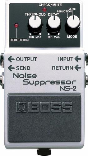novo pedal p/ guitarra boss ns-2 noise suppressor garantia