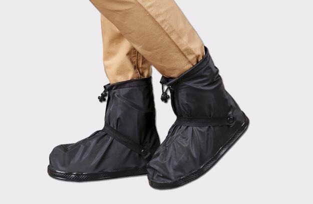 b95bec461ff Novo! Plásticos Protetor Chuva Para Sapato (preto) - R  24