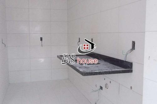 novo - pronto - 3º dormitório opcional - 2834