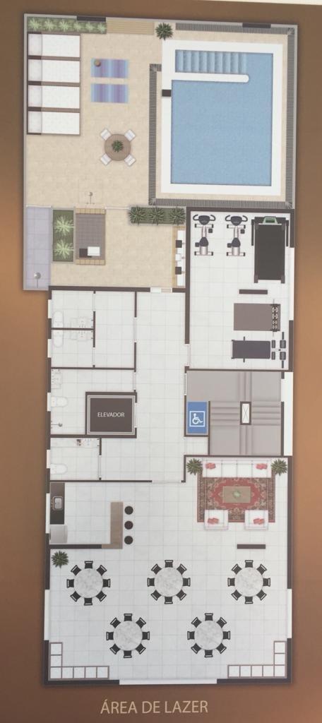 novo residencial solis: 2 dorms 1 suite gar demarcada lazer