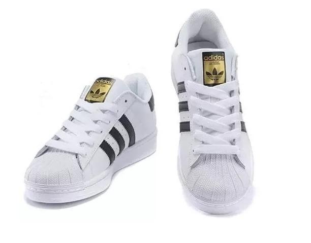 5fa9c92998e Novo Tênis adidas Superstar Original Homem Mulher - R  226