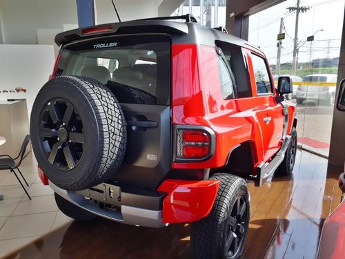 novo troller t4 3.2l 20v 4x4 2019/2020 vermelho arizona