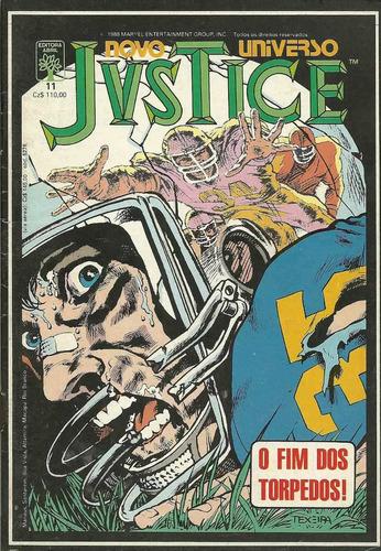 novo universo justice 11 - abril - bonellihq cx353 g18