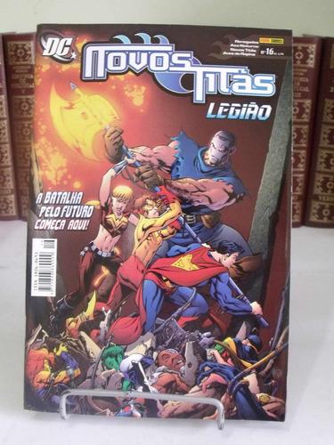 novos titãs nº16 - legião